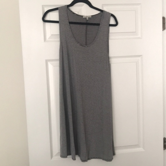 Charlotte Russe Dresses & Skirts - Black and white striped dress
